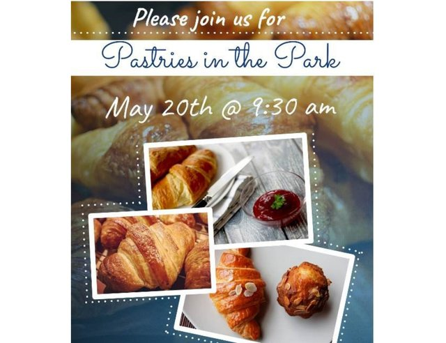 Pastries in the Park