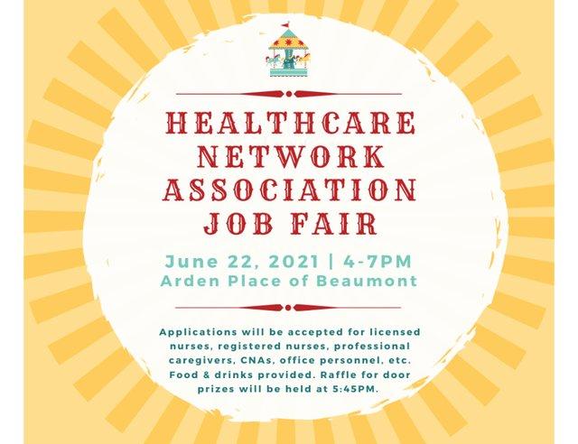 Healthcare Networking Association – Beaumont Chapter Job Fair