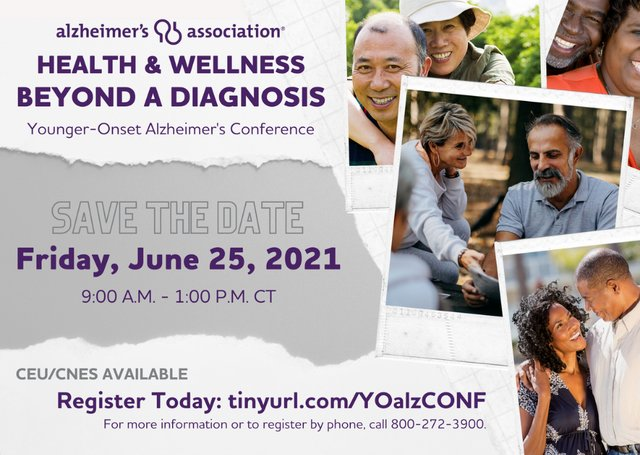 Younger-Onset Alzheimer's Conference