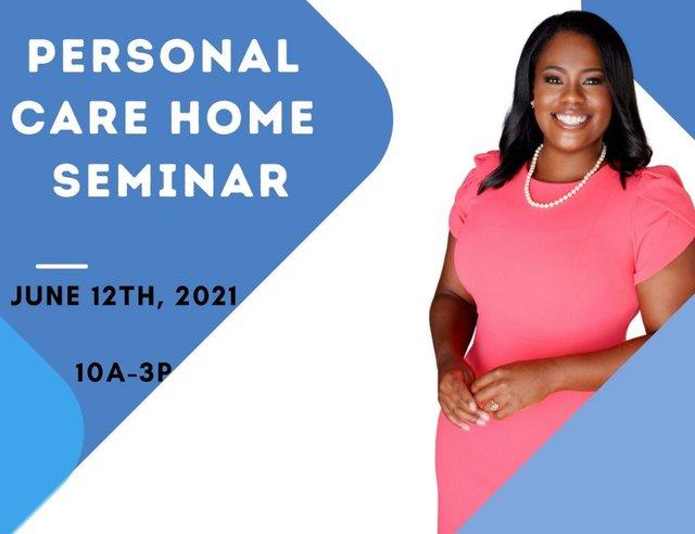 Personal Care Home Seminar