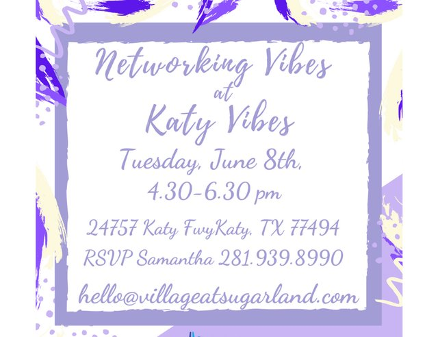 Networking Vibes at Katy Vibes