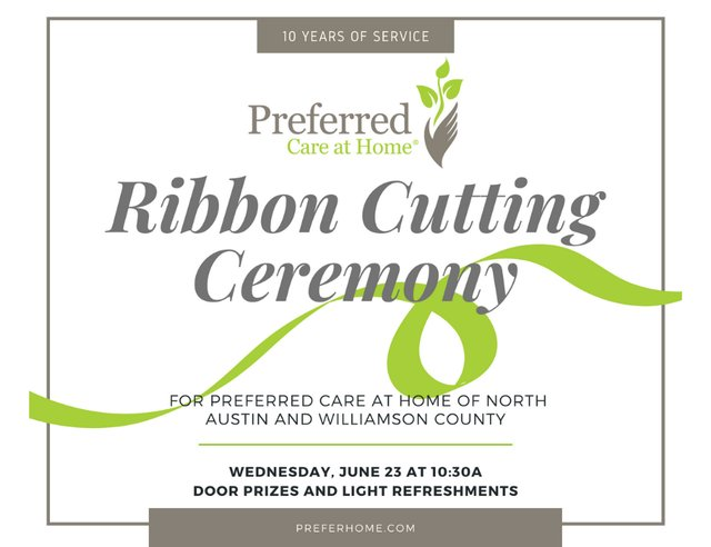 Preferred Care at Home Ribbon Cutting Ceremony