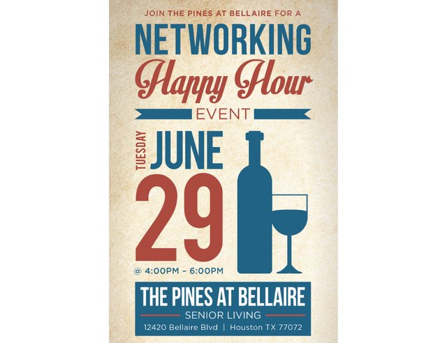 Pines at Bellaire Networking Happy Hour
