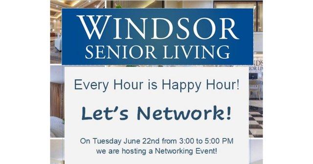 Windsor Senior Living Networking Event
