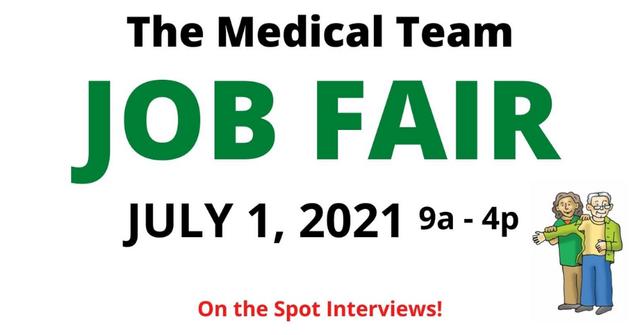The Medical Team Job Fair