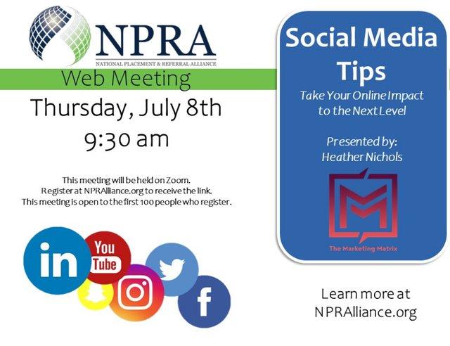 NPRA of Texas General Meeting