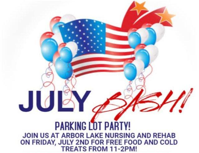 July Bash Parking Lot Party