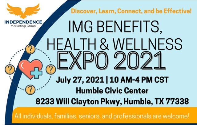 IMG Benefits, Health & Wellness Expo 2021