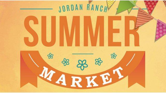 Summer Market at Jordan Ranch