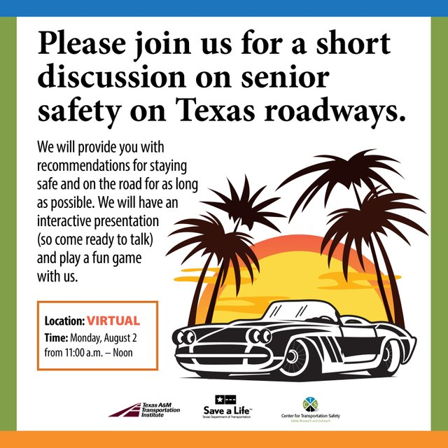 Senior Driver Educational Activity
