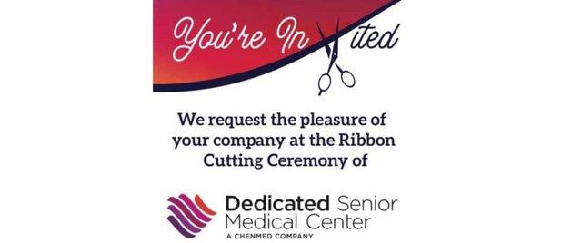 Ribbon Cutting Ceremony of Dedicated Senior Medical Center