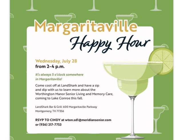 Margaritaville Happy Hour