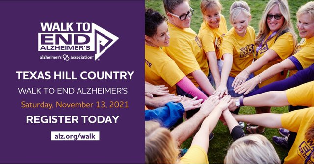 2021 Texas Hill Country Walk to End Alzheimer's