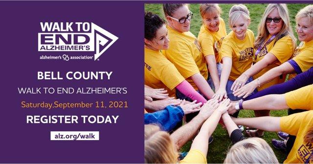2021 Bell County Walk to End Alzheimer's