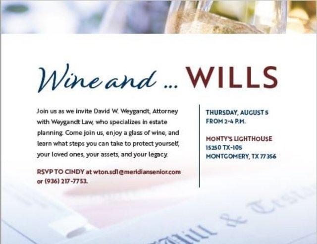 Wine and Wills