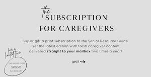Senior Resource Guide Printed Edition Subscription Secret Code